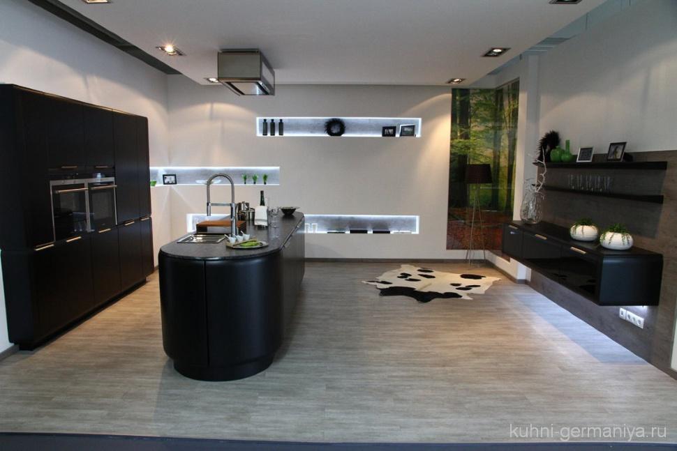Kchen Holz Modern Mit Kochinsel